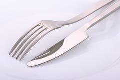 штепсельная вилка плиты ножа Стоковая Фотография RF