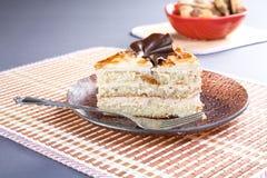 штепсельная вилка плиты печений торта Стоковое Изображение