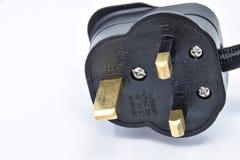 штепсельная вилка 3 штыря Стоковое Изображение RF