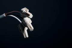 штепсельная вилка iinsulation стоковое фото rf