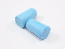 штепсельные вилки пены уха стоковое изображение