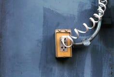 Штепсельная вилка на стене Стоковые Фотографии RF