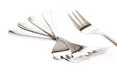 Штепсельная вилка, ложка, ножи Стоковая Фотография