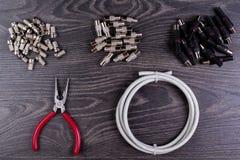 Штепсельные вилки антенны Стоковое Изображение
