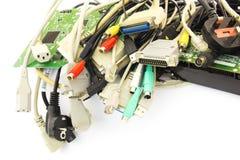 Штепсельные вилки компьютера Стоковое фото RF