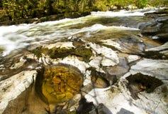 штилевая свирепствуя вода Стоковые Изображения RF