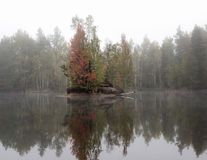 Штилевое озеро Стоковые Фотографии RF