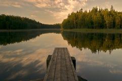 штилевое озеро Стоковые Изображения
