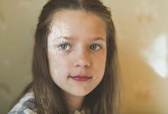 штилевой портрет девушки Стоковое фото RF