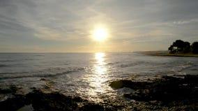 штиль на море сток-видео