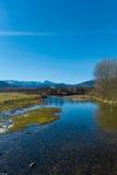 Штилевое река Стоковая Фотография