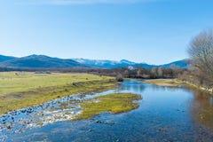 Штилевое река Стоковое фото RF