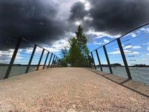 штилевой шторм Стоковое Изображение