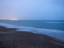 Штиль на море стоковое изображение