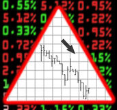 шток валютного рынка Стоковые Изображения
