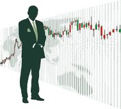 шток валютного рынка Стоковое фото RF