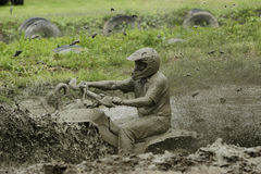 шток грязи chuggars Стоковое Изображение RF