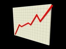 шток диаграммы Стоковые Изображения RF