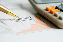 шток рынка диаграмм стоковое фото rf