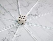 шток рынка обменом играя в азартные игры Стоковое фото RF