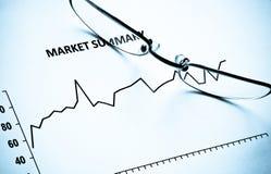 шток рынка Стоковое Изображение