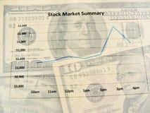 шток рынка Стоковые Фотографии RF