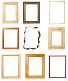 штольн рамки украшения искусства деревянная Стоковые Изображения