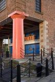 Штольн современного искусства Tate - Ливерпул - Великобритания стоковое изображение