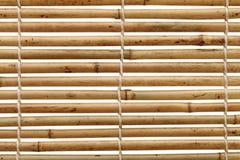 Шторки бамбука Стоковое Изображение