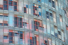 Шторки окна стоковая фотография
