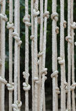 Шторки сделали ‹â€ ‹â€ веревочки Стоковая Фотография