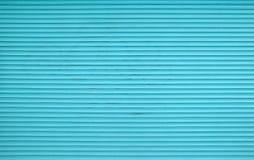 Шторки штарки ролика Teal голубые горизонтальные Стоковое Фото