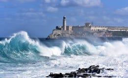 Штормовая погода в Гаване стоковая фотография rf
