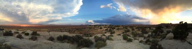 Штормы вокруг Стоковая Фотография