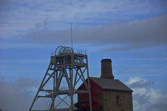 Штормы над шахтами олова Стоковое Изображение RF