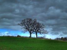 шторм весны Стоковое Изображение