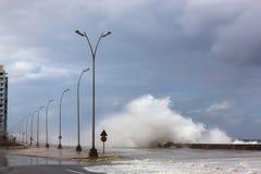 Шторм в Гаване Стоковые Изображения RF