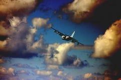 шторм истребителя Стоковая Фотография RF