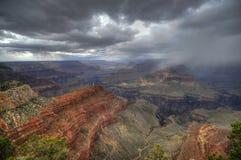 шторм каньона грандиозный Стоковое Изображение RF