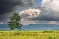 шторм ландшафта облаков Стоковое фото RF