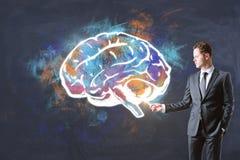 Шторм мозга и концепция финансов Стоковые Фотографии RF