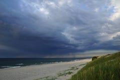 Шторм моря Стоковая Фотография