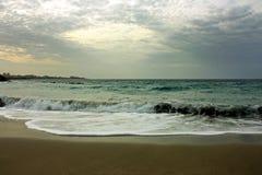 Шторм на море Стоковое Изображение