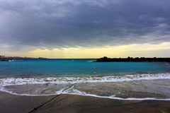 Шторм на море Стоковое фото RF