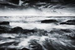 Шторм на океане Стоковая Фотография