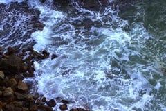 Шторм на океане Стоковые Изображения
