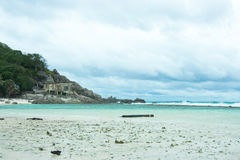 Шторм на острове Nangyuan Стоковое Фото