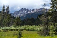 Шторм над Buttes Сьерры Стоковые Изображения RF