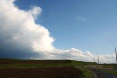 шторм облака Стоковая Фотография