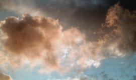 шторм облаков Стоковое Фото